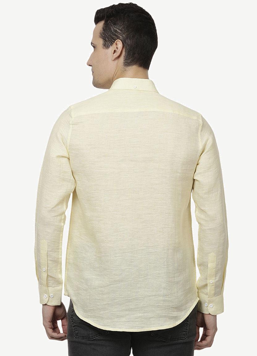 Lemon Yellow Shirt