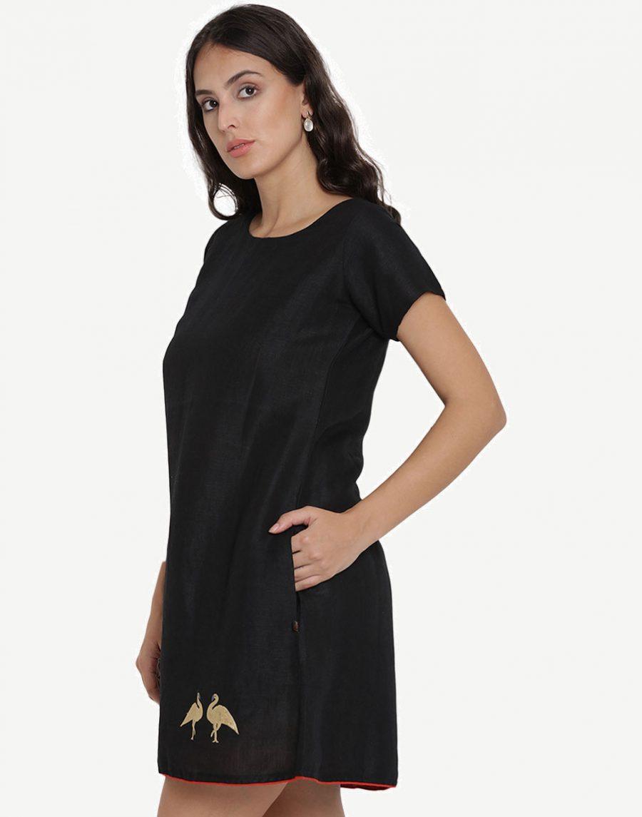 Knee Length Black Dresses