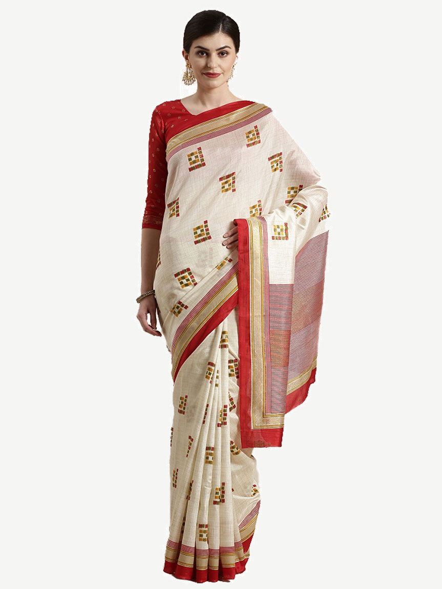 Silk Saree with Blouse Piece